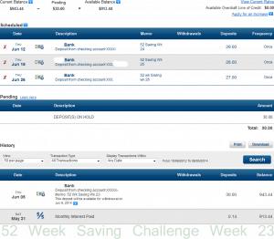 52 saving week 23