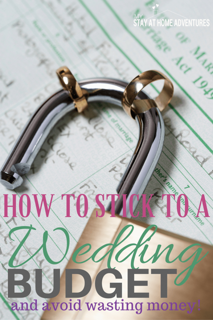 How to stick to a wedding budget can be difficult but doable Here are some tips to help you stay on budget and most importantly motivated!