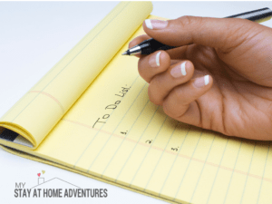4 Surprising Reasons Every Mom Needs A To-Do List Today!