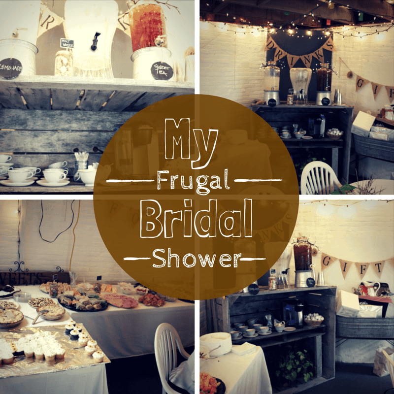 My Frugal Bridal Shower