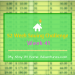 52 Week Saving Challenge Week 41
