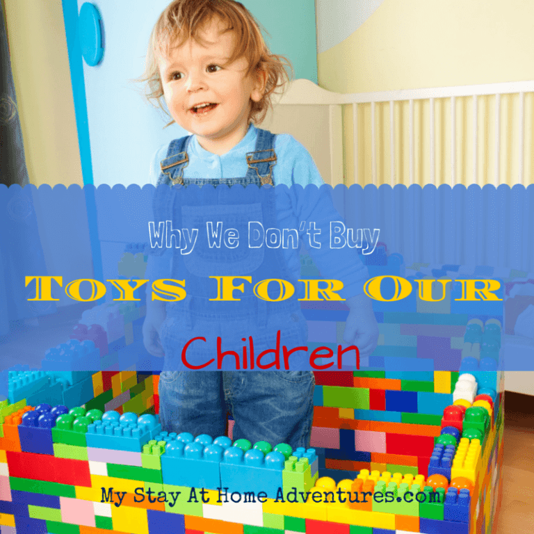Why We Don't Buy Toys For Our Children