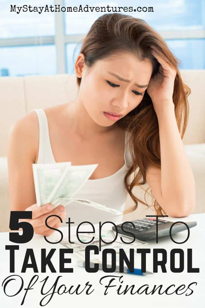 5 Steps To Take Control Of Your Finances(1)