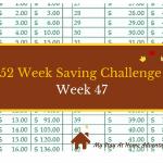 52 Week Saving Challenge Week 47