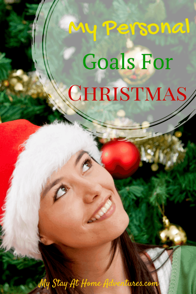 My Personal Goals For Christmas