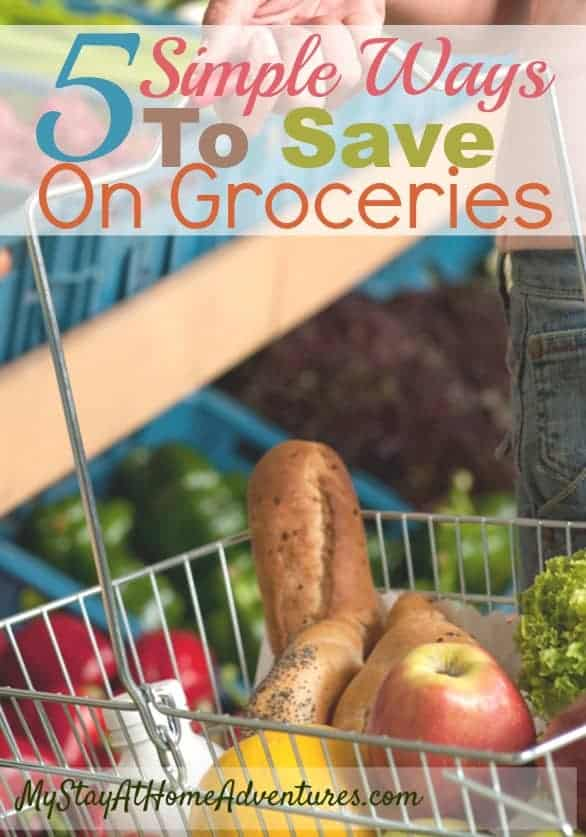 You can reduce your monthly bills and you can even save on groceries by following these five simple ways on your next planned grocery trip. via @mystayathome