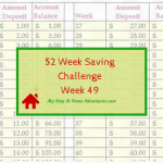 52 Week Saving Challenge Week 49