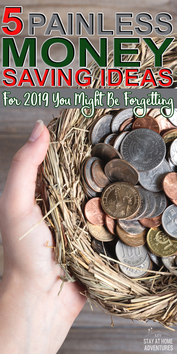 You will not fail this year when you follow these simple five money saving ideas for 2019 and start implementing them today. Take a realistic money saving step.