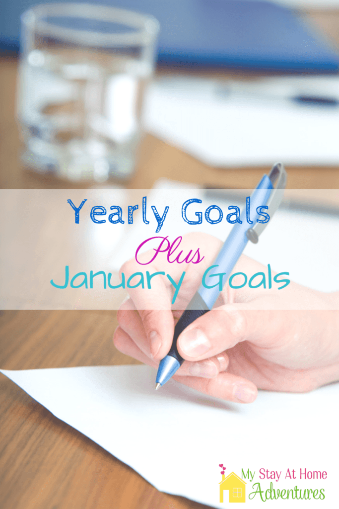 2015 Yearly Goals Plus January Goals