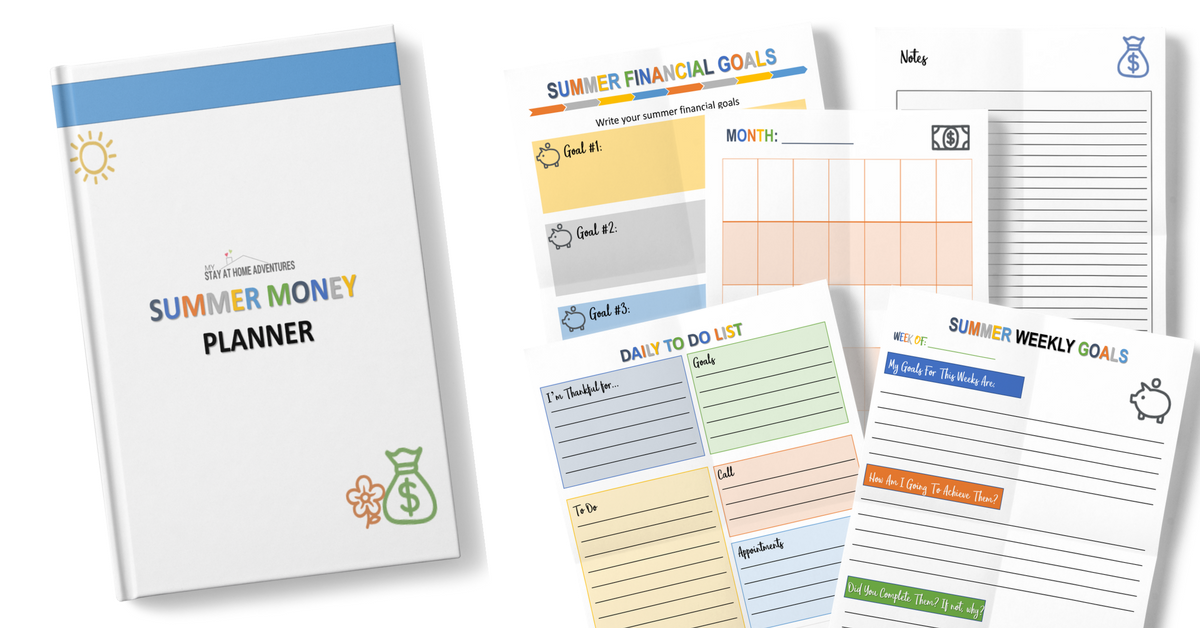 Download your free Summer Budget Planner today