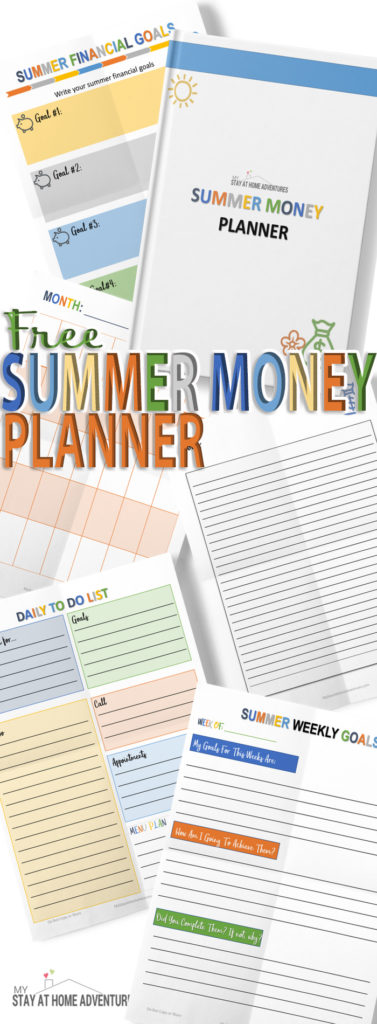 Stress less about your finances when you learn to create a summer budget. Learn seven reason why everyone needs a summer budget that works. Plus free Summer Planner.