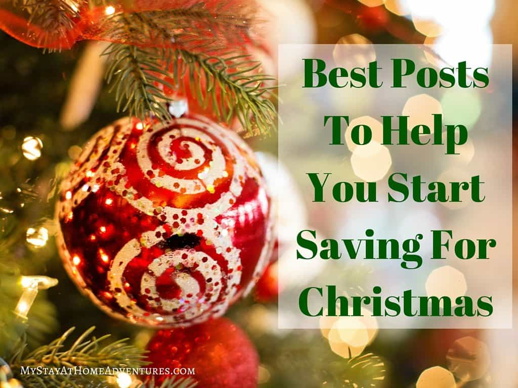 Start saving for Christmas starts now! Eliminate the financial stress and read the top posts to help you start saving money for Christmas.