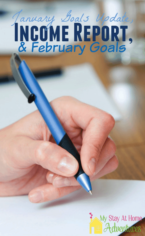 January is gone. Read all about my progress in my January Goals Updates, February Goals + Online Income Report post.