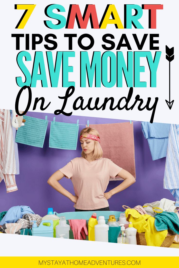 When it comes to saving money on laundry it is more than just using DIY detergent. Learn how many of us save thousands of dollars doing these tricks. via @mystayathome
