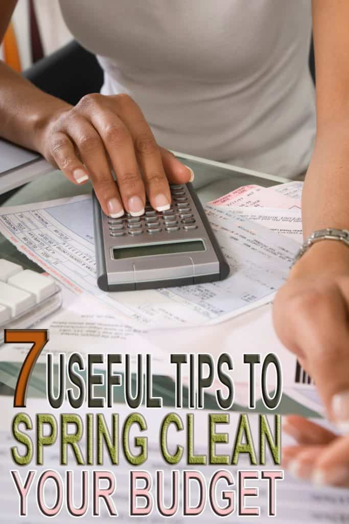 During Spring time there is no better time to make the time to Spring clean your budget by following these 7 helpful tips.