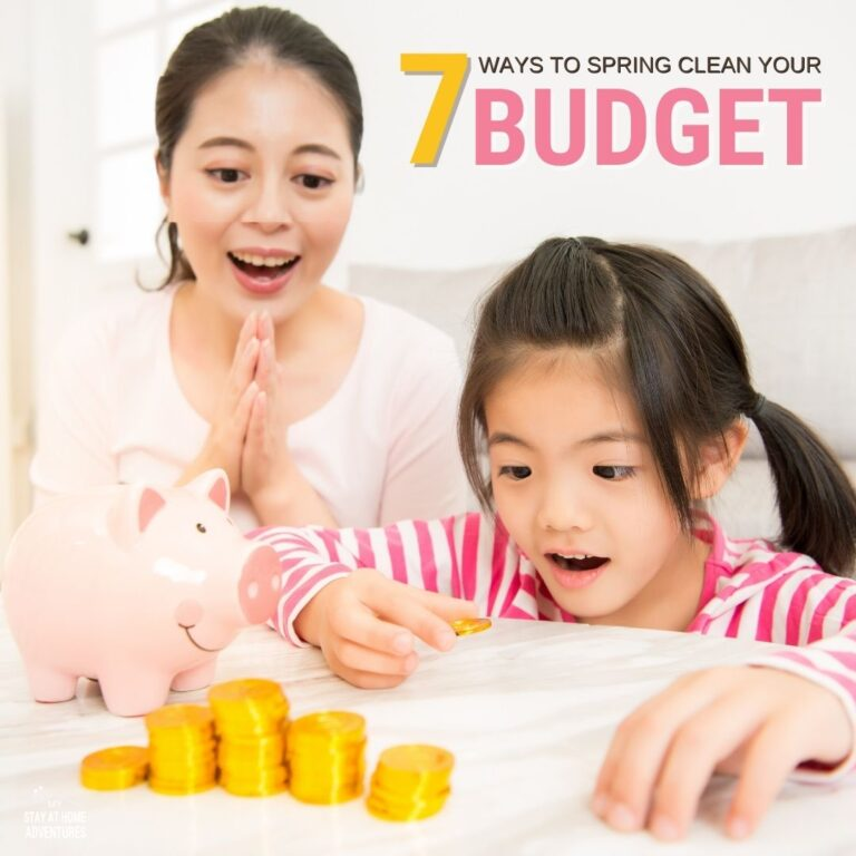 7 Useful Tips To Spring Clean Your Budget