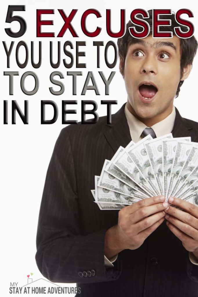 You are trying to get out of debt and you continue to fail over and over again. The reason you are failing is going to surprise you and might sting a bit. The good news is that you can break this failing cycle by learning and understand the reasons behind your failures. #money #debt