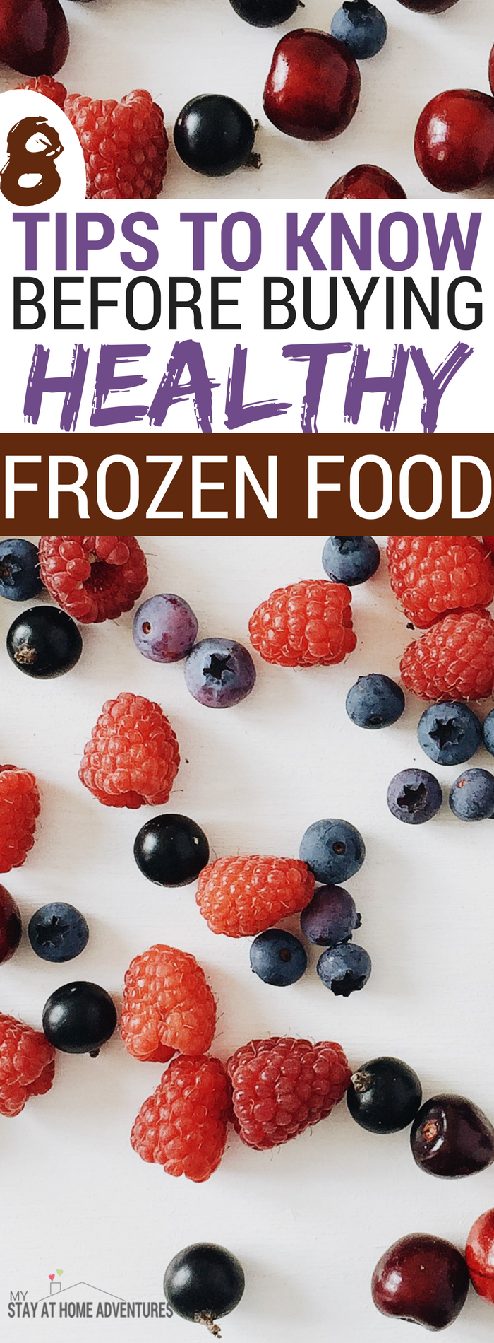 You can take advantage of how affordable healthy frozen food is but the trick is finding it. Many people don't know how to shop for healthy frozen food and some don't even know about these tips at all. Learn what they are and how you can score BIG when it comes to frozen food. #Food #Tips #FrozenFoodMonth #March #Fruit #health #healthy