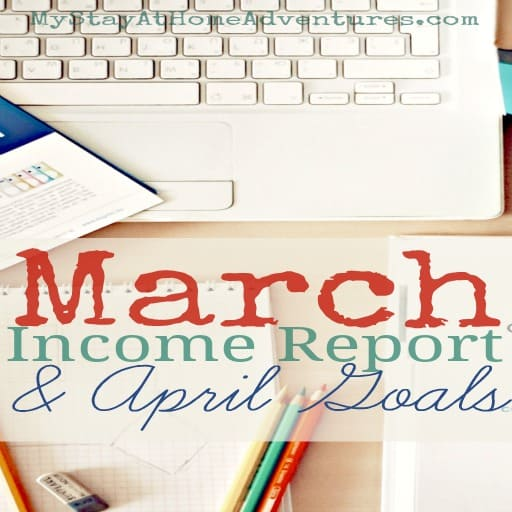 WoW March was like a roller coaster for me. Up one minute, down the next. Here you have my March Income Report and April Goals.