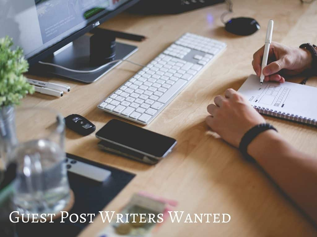 We are looking for awesome guest posts and you might be that person!