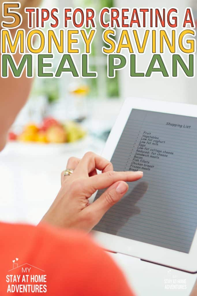 Anyone can create a meal plan, but can you create a meal plan that saves you money in one week? Learn how can create the perfect meal plan that will save you time and money while feeding your family.