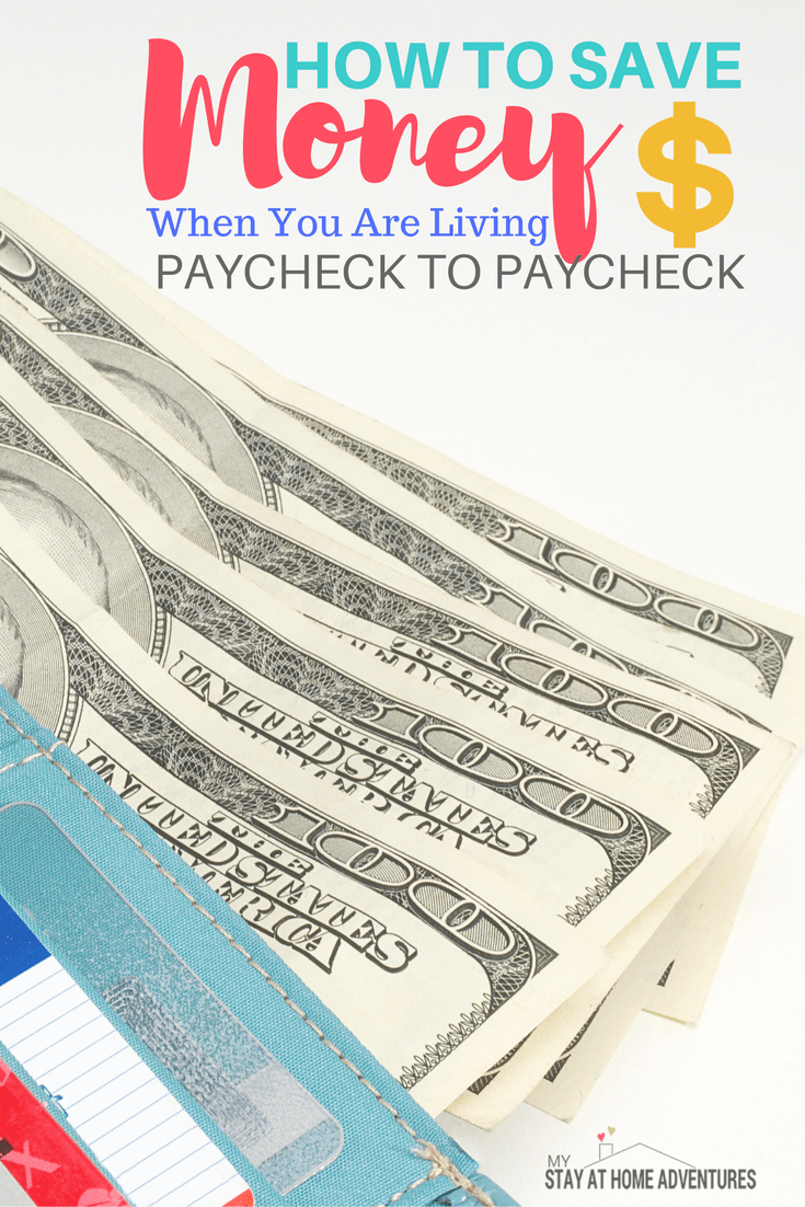 No one should live paycheck to paycheck. It is a hard way to live and honestly a stressful one to say the least. Learn how 4 tips will help you break the cycle of living paycheck to paycheck so you can start living life the way it was intended. #money #paycheck #Finances #Tips #debtfree