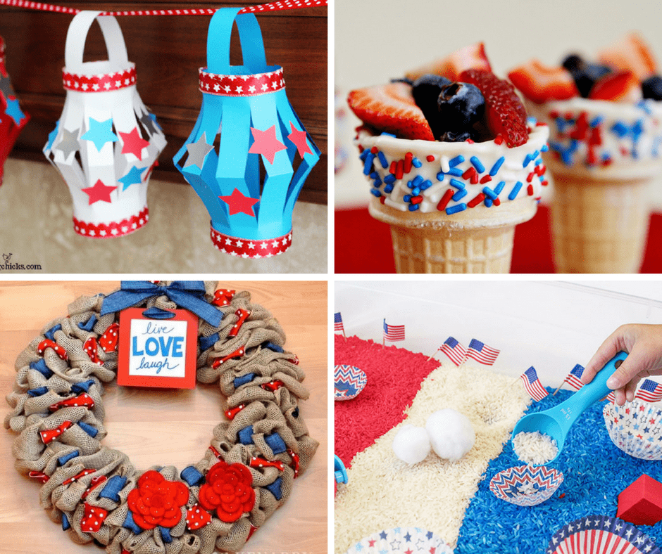 Last Minute Frugal Ideas For Memorial Day Weekend - Create fun crafts!