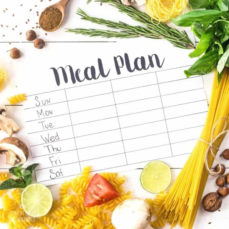 Meal Planning That Saves You Money (Free printables)