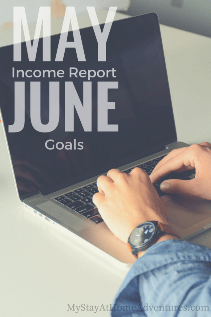 May Income Report & June Goals - It's that time for May Income Report & June goals my friends. This month my blog income was ... well you will see.