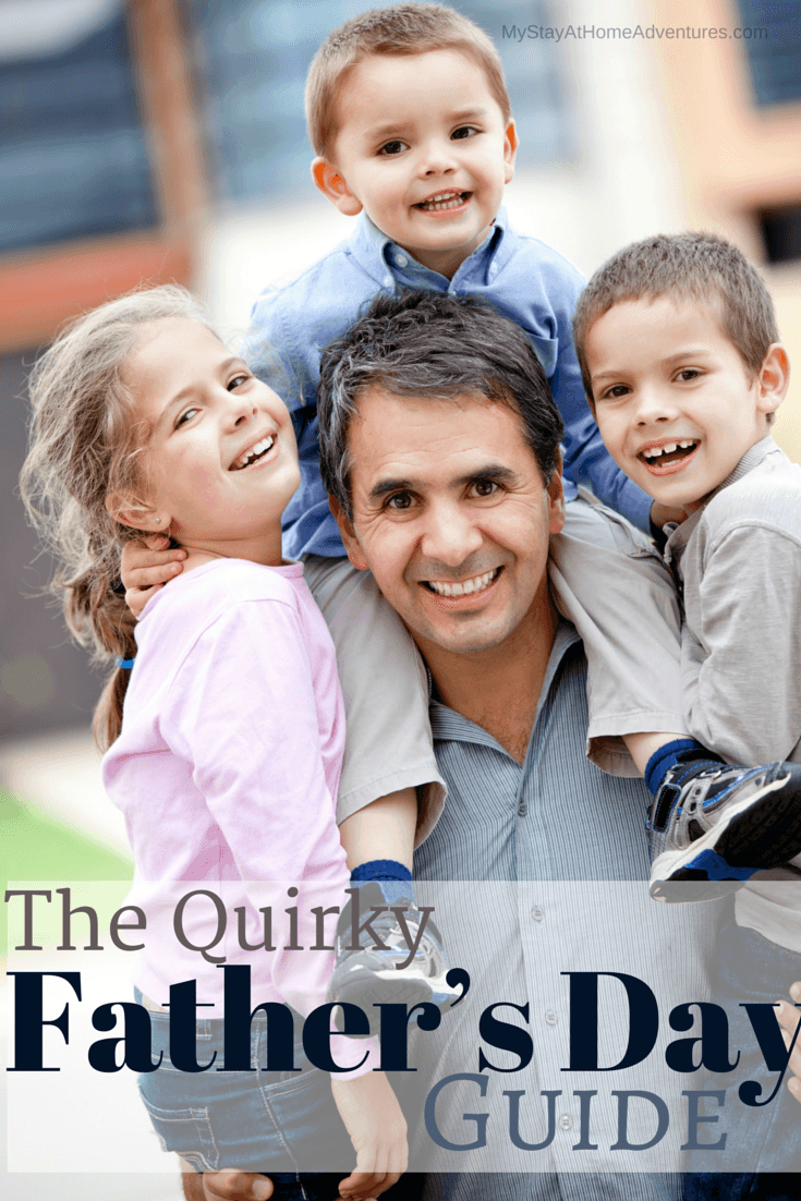Learn four quirky Father's Day gift ideas that dads are going to love. Check out the Quirky Father's Day Gift Guide 2019 and give dad the best gift ever. via @mystayathome