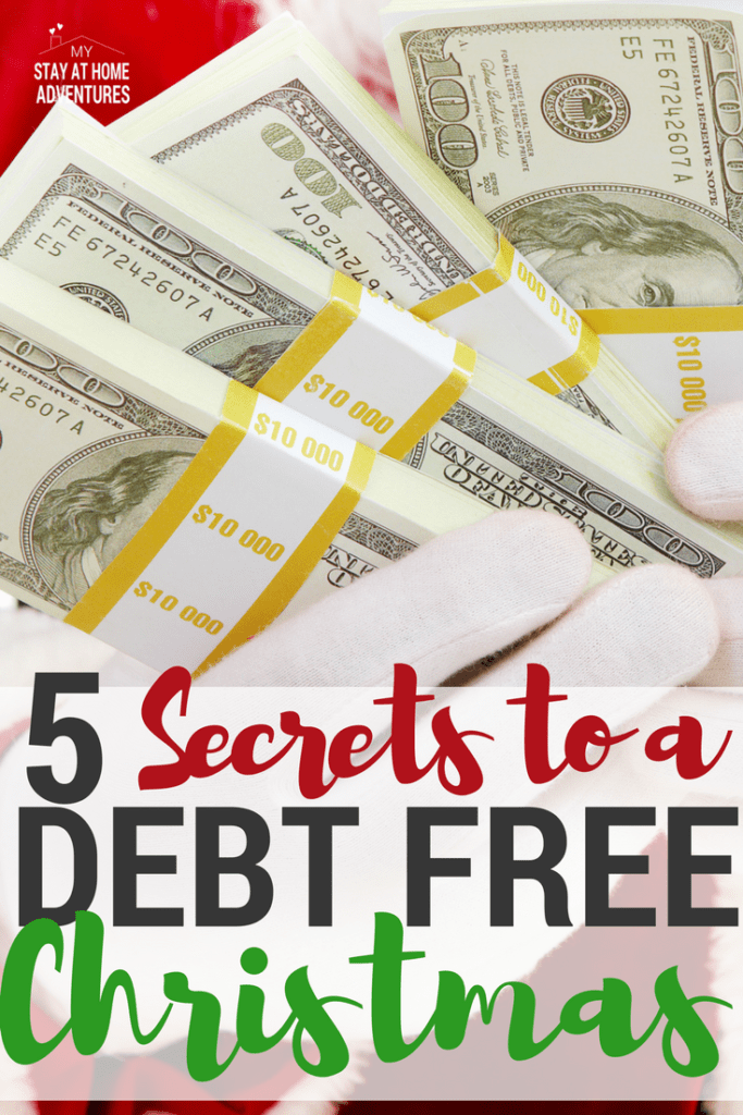 Let's start planning to have a debt free Christmas this year by following these tips and ideas. These are ideas that have worked for many of us!