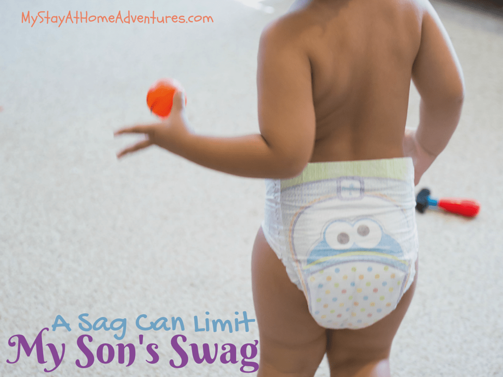 Pampers Cruisers -Having a saggy diaper can limit a baby's movement and their activities. With the new Pampers Cruisers features things are about to change from #SagToSwag.
