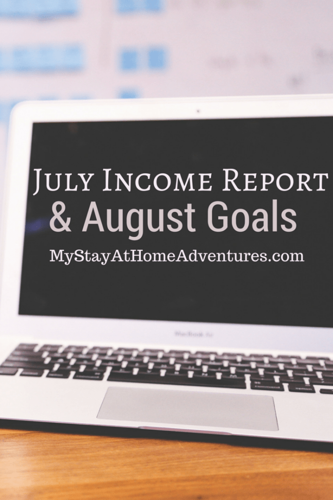 It is that time of the month where I share with you my blog income report for the month of July.