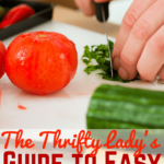 The Thrifty Lady's Guide to Easy Meal Prepping