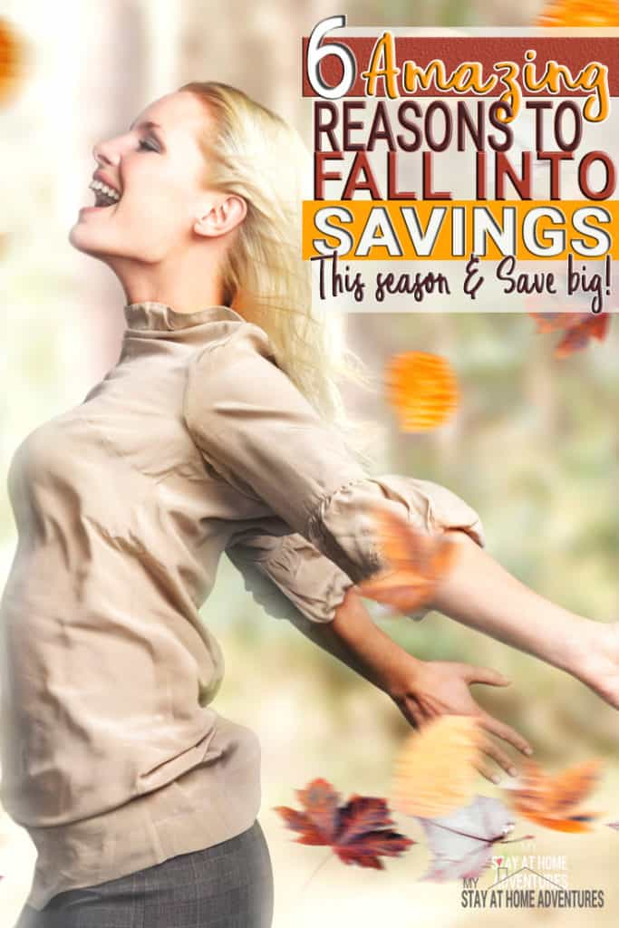 Learn 6 amazing reasons to fall into saving this season and you are going to love each and every one of them. You and your wallet will love it!