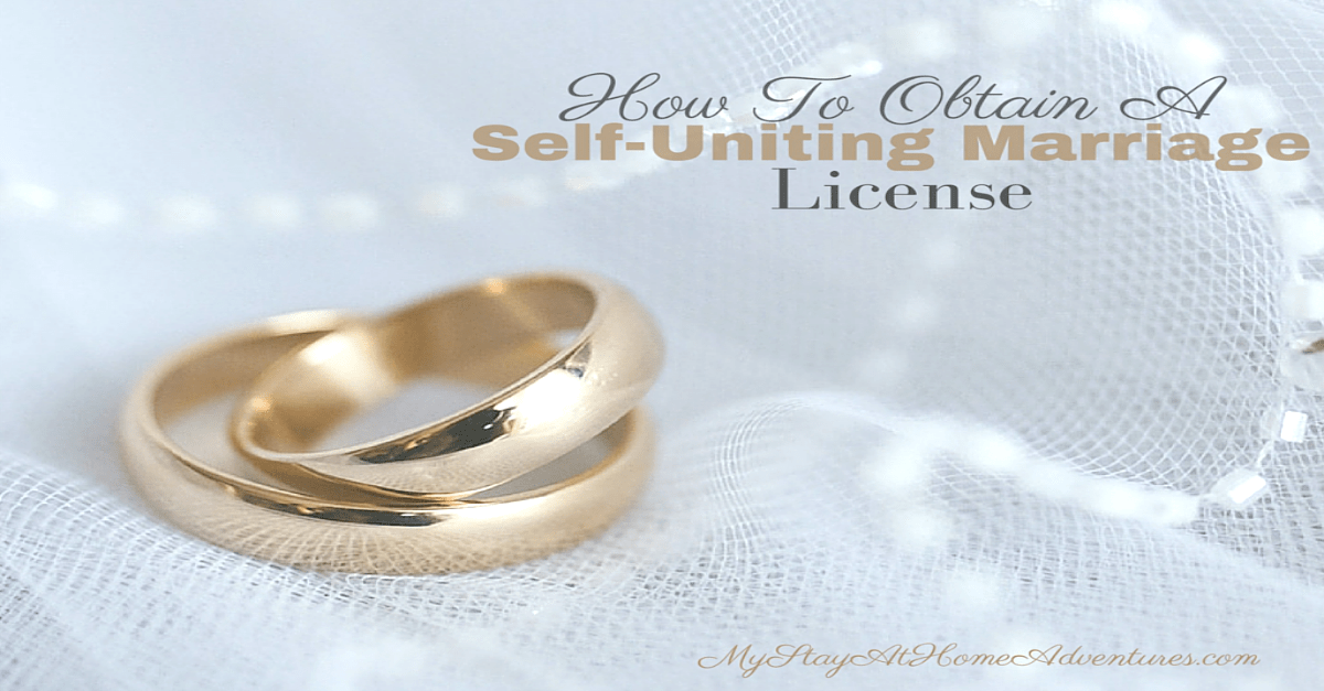 How To Avoid Self-Uniting Marriage License Legal Problems