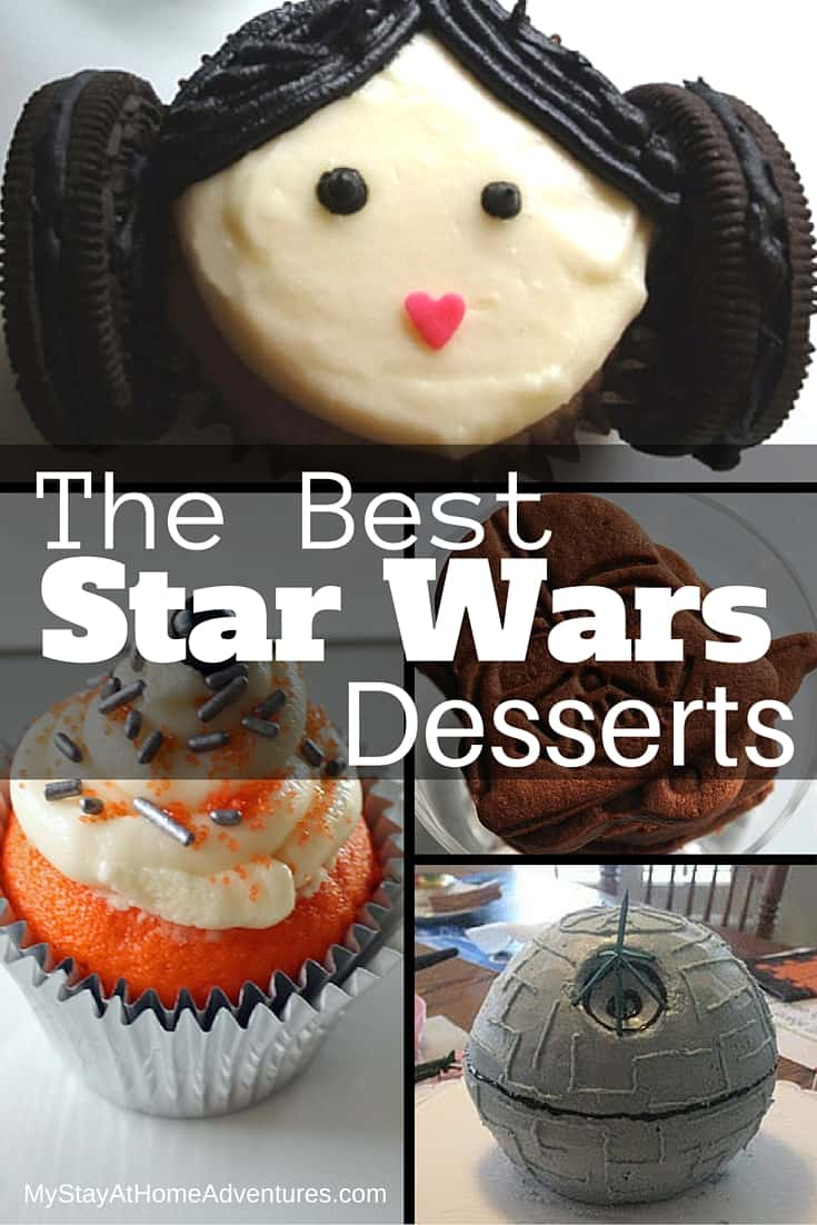 Check out these amazing and the best Star Wars desserts from everyday people that will blow you away! From cupcakes to Death Star cake learn to create the best Star Wars dessert today. via @mystayathome