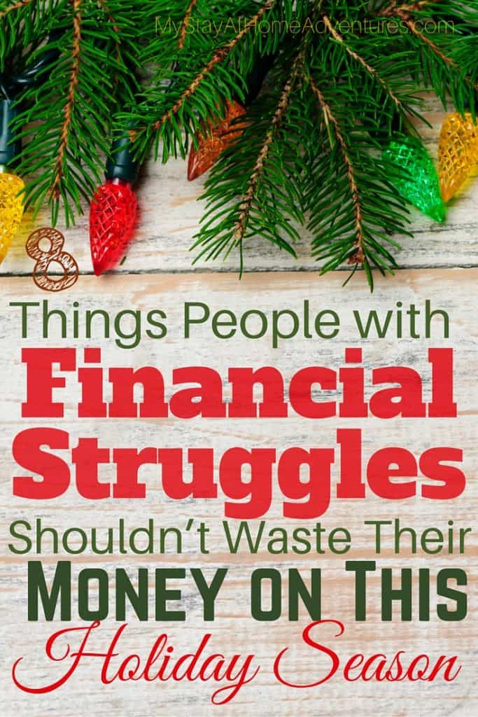 8 Things People with Financial Struggles Shouldn't Waste Their Money on This Holiday Season