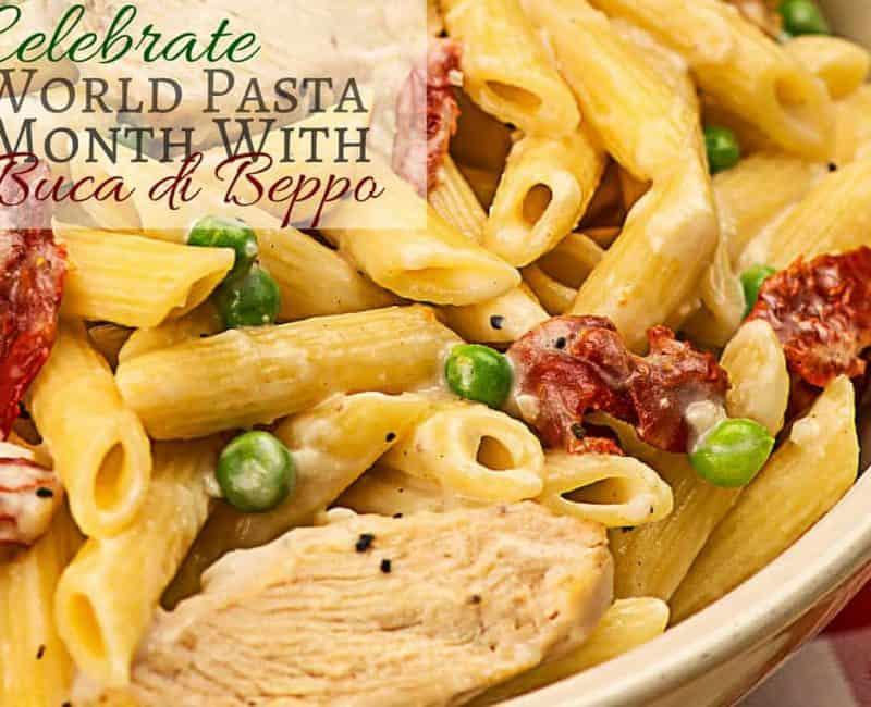 Celebrate World Pasta Month With Buca di Beppo
