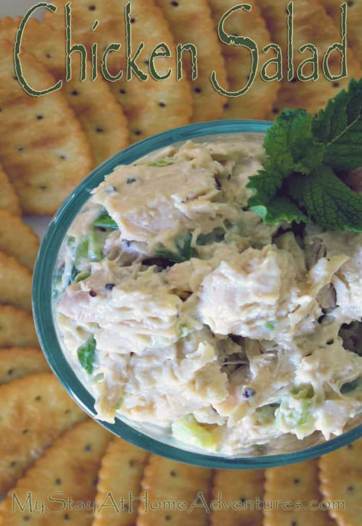 An amazing chicken salad recipe that is simple and won't cost much to make. Most importantly your family will love!