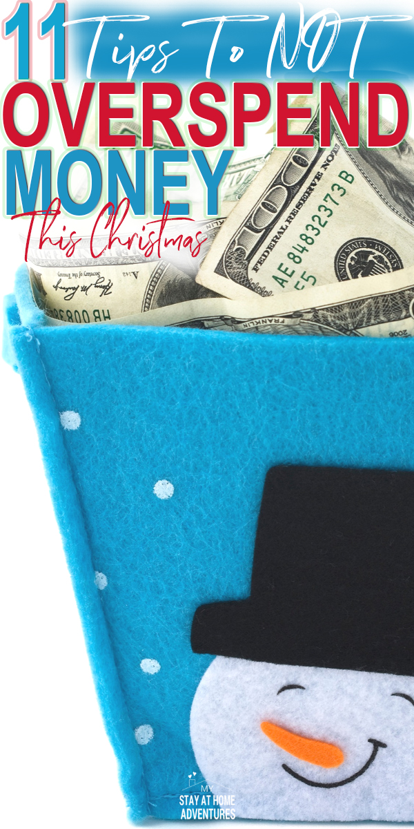 During the holidays many of us have overspending issues to deal with. Here are 11 tips on how to not overspend money this 2018 Christmas season