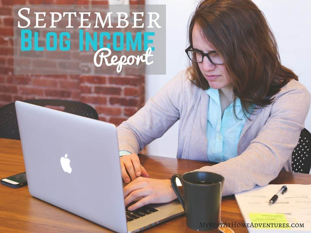 October is here and here are September Blog Income Report.