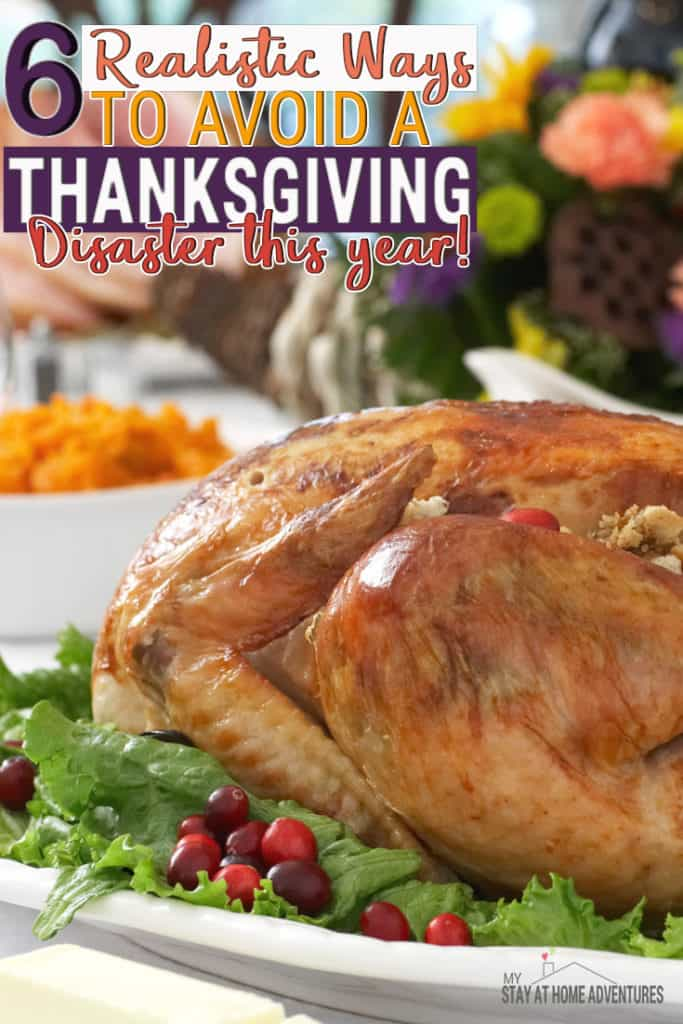 Avoid these Thanksgiving day disasters this year by avoiding these mistakes we seem to do every year. Learn this tips and start enjoying your holiday again.