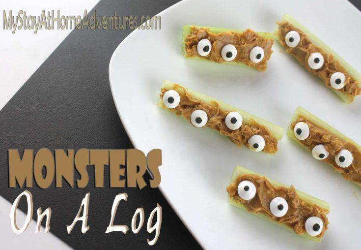 Halloween Monster Log