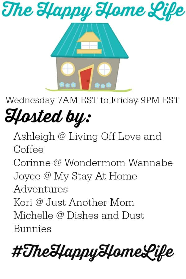 It's back The happy Home Life Link Party! Come on over and join the party. Find amazing content and amazing people!