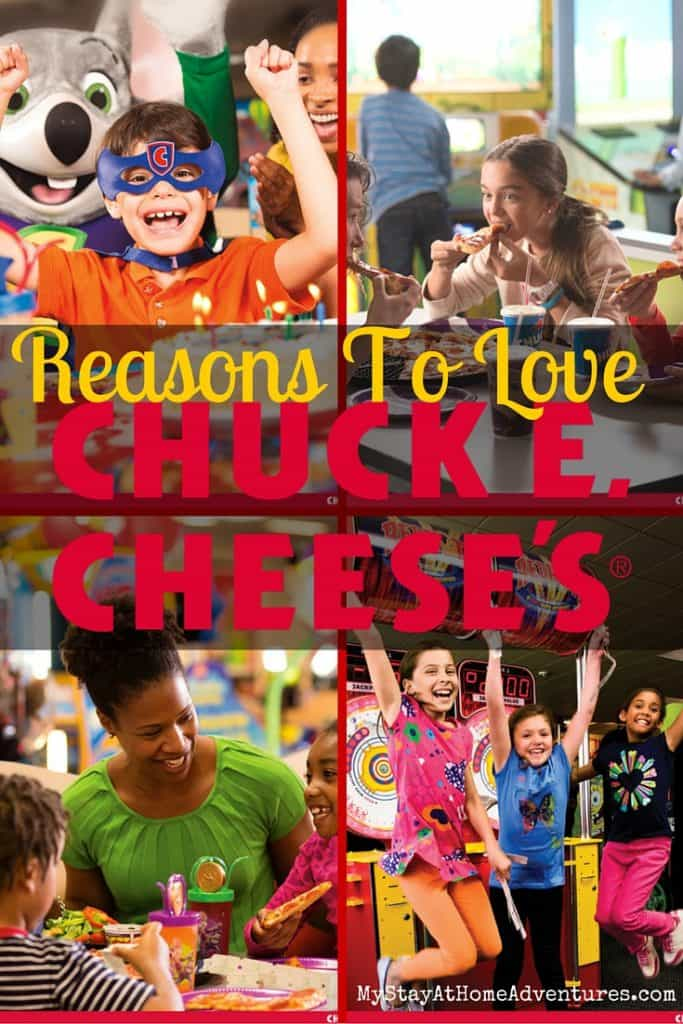 If you haven't visit Chuck E. Cheese's lately here are 6 reasons you are going to love Chuck E. Cheese's! #Chuckecheese #ad