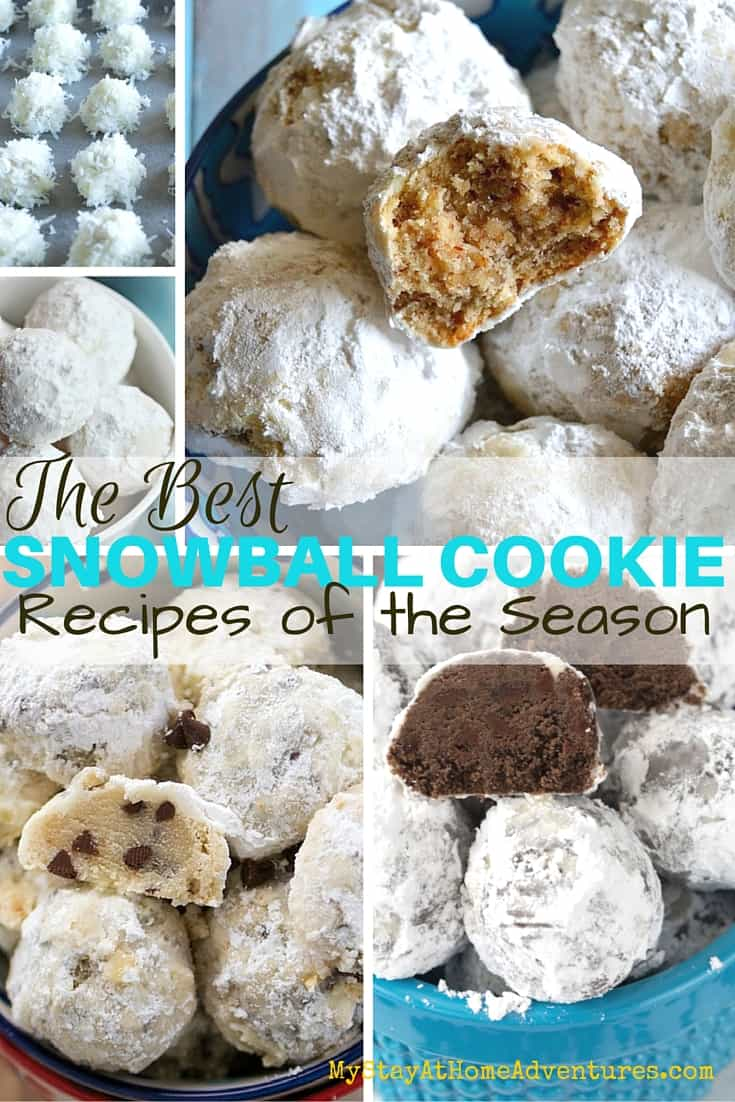 It is that time of the year and if you are looking for the best snowball cookie recipes around we have them all here! Check out these amazing recipes! via @mystayathome