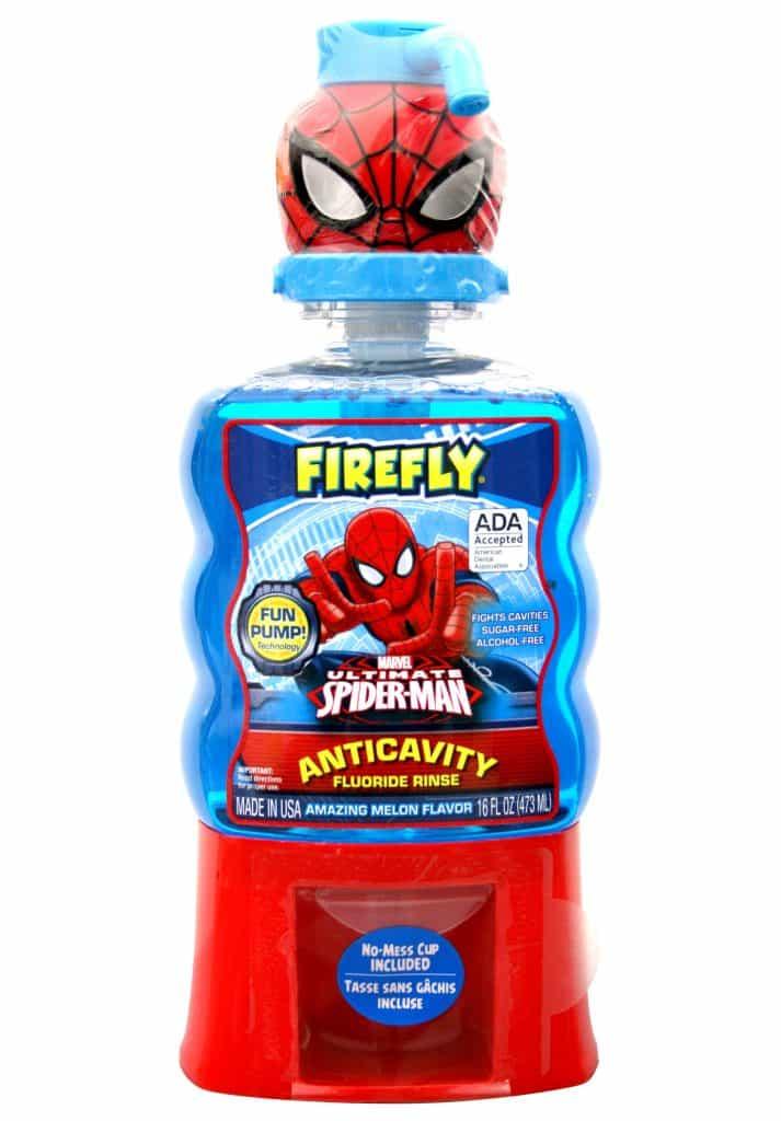 Firefly Spider-Man Fun Pump Rinse