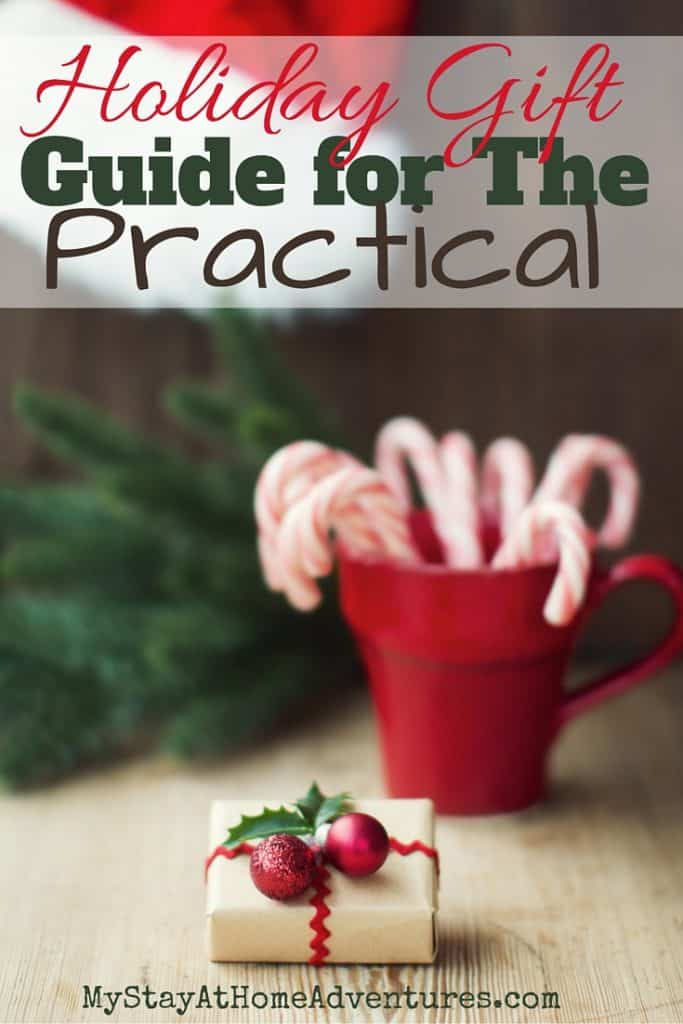 A wonderful detailed holiday gift guide for the practical. Affordable, useful, and thoughtful gifts for the entire family.