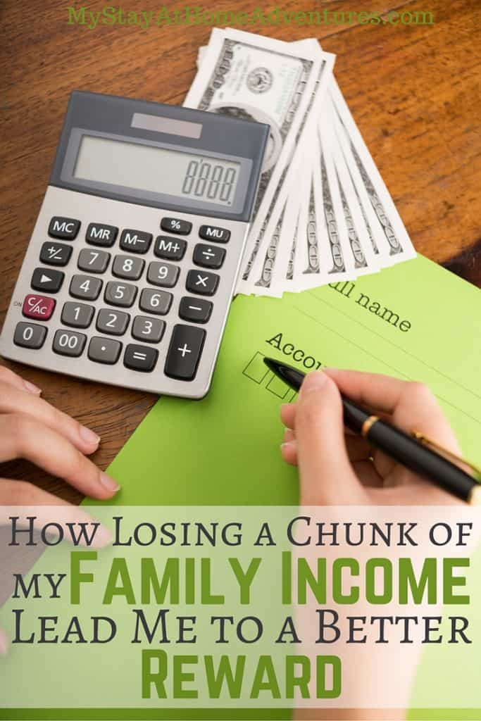 I lost a chunk of my family income and now I have doubled that income thanks to my online income. Learn how I did it here.